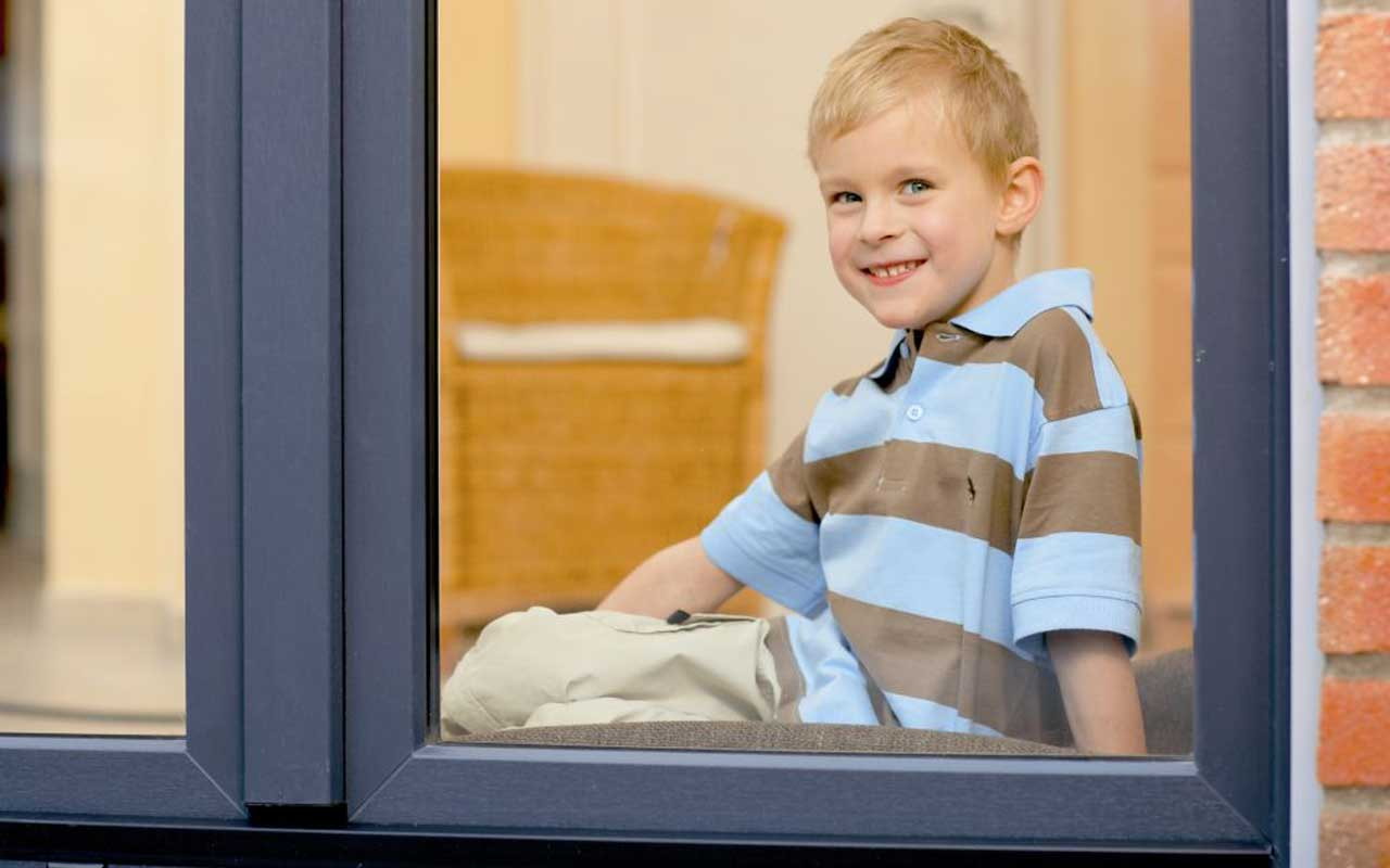 Sicherheit bei Fenster und Türen