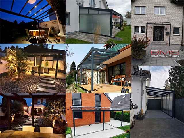 Überdachungen |BMS Fenster & Türen